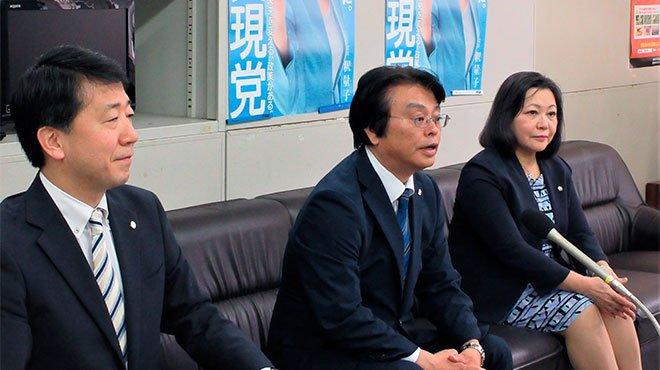 次期衆院選 幸福実現党の金城竜郎氏が九州比例での出馬を表明
