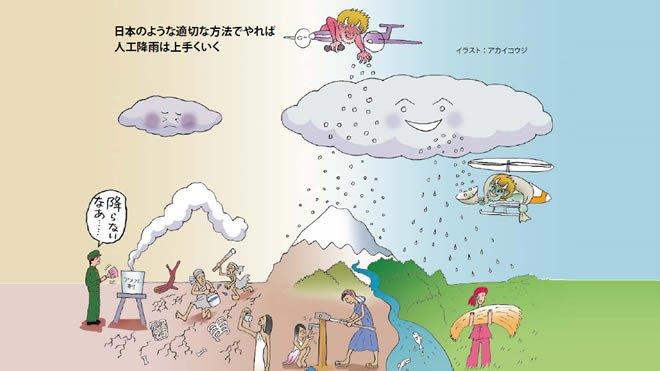 2031年日本の未来構想(5)人工降雨で世界中に恵みの雨を