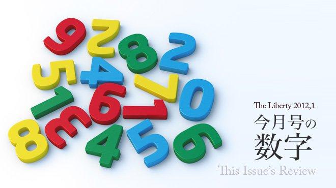 今月号の数字 This Issue's Review