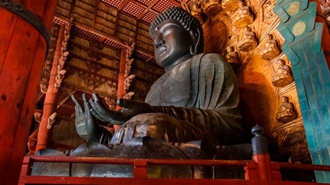 「奈良の大仏」建立の軌跡 創建時の大仏殿の大きさは、現在の1.5倍