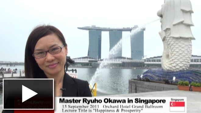 Master Ryuho Okawa in Singapore