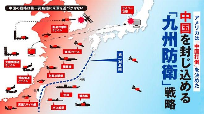 アメリカは「中国打倒」を決めた 中国を封じ込める「九州防衛」戦略