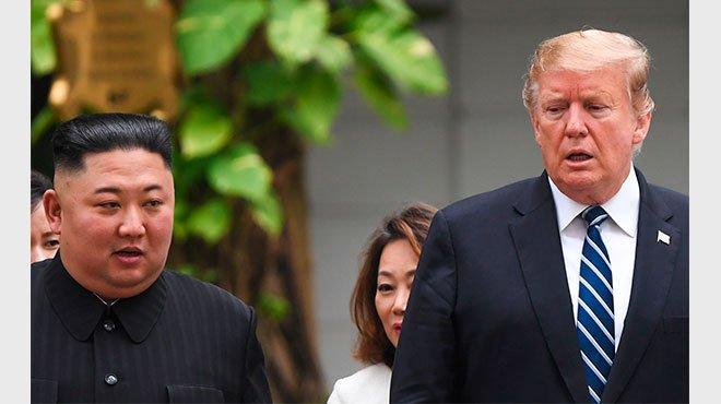 米朝会談 非核化合意に至らず 外交の原則を貫いたトランプ氏