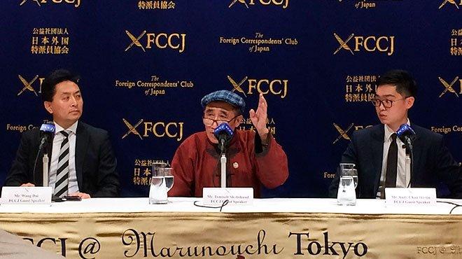 香港民族党の創立者らが記者会見 「中国と香港の両方に制裁を科すべき」