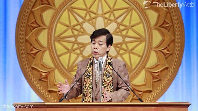 「宗教を信じる人たちが正しい道を示す努力を」大川隆法総裁が京都で講演