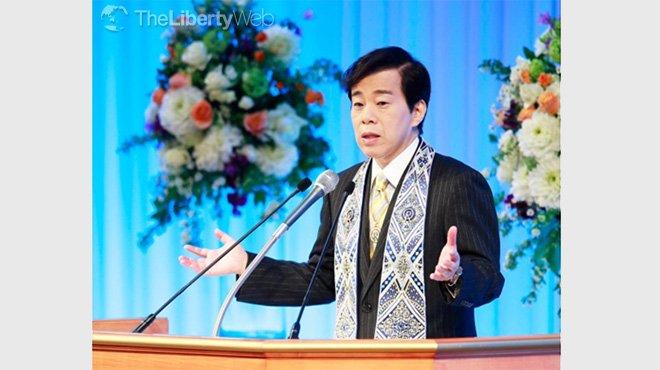 「世界に争いの種を増やしたくない」 大川隆法総裁 講演会