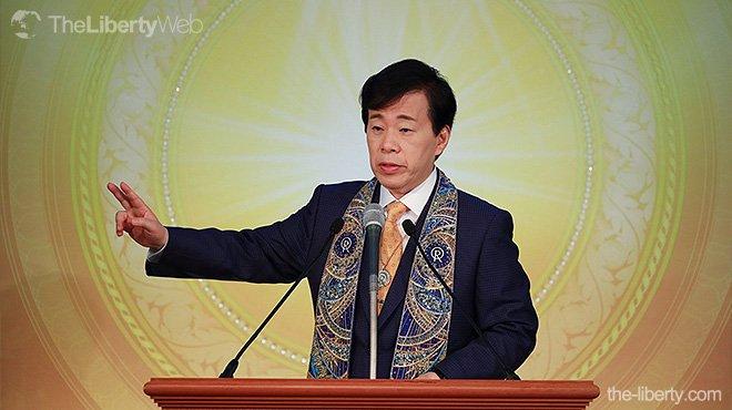 大川総裁が台湾で講演  台湾の自由、民主主義、信仰を中国本土にも広げるべき