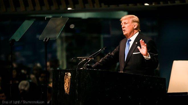 トランプ氏の国連演説 「失笑」ばかり報じるメディアの偏向