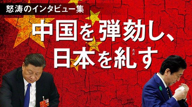 怒涛のインタビュー集 - 中国を弾劾し、日本を糺す