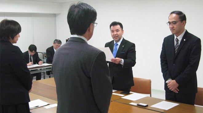 幸福実現党が北海道知事に「北方領土問題の解決と日露経済交流の進展」を要請