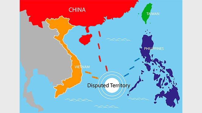 南シナ海の中国軍事拠点が完成か 比メディアが明かした中国の野望