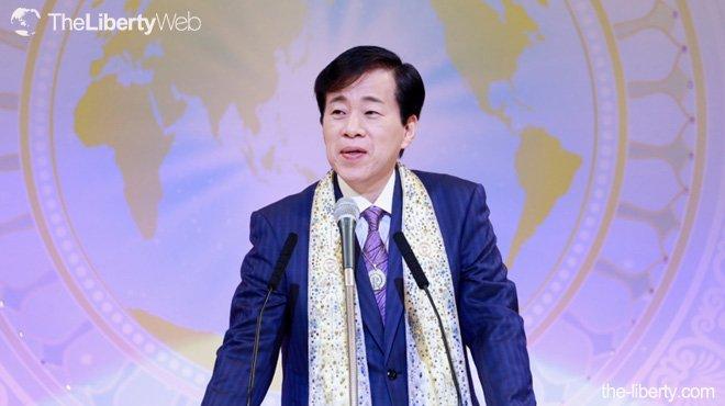 大川総裁、講演でポスト平成を語る 「仮想通貨時代」「IT導入」の問題点