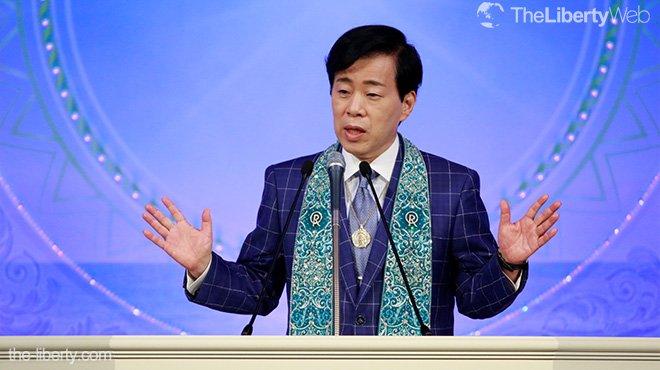 北朝鮮の核も国を守るための正義か 大川隆法総裁が高知で講演