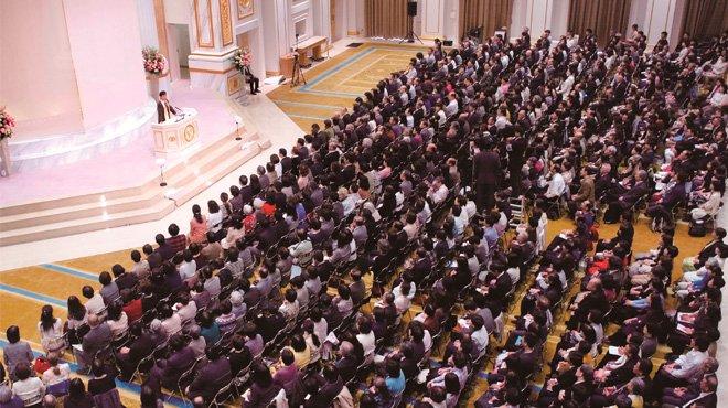 幸福の科学・大川総裁の生誕地に新たな精舎が落慶 記念法話「慈悲の大河」開催