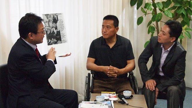 天安門事件から28年 民主活動家・方政氏と幸福実現党・矢内筆勝氏が対談