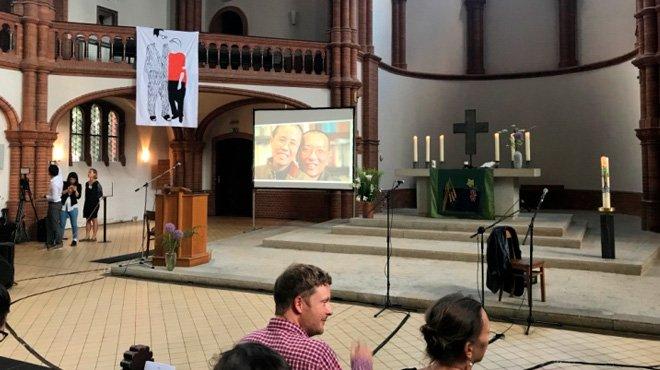 中国人権活動家・劉暁波氏の死から一年 ドイツで式典開催も妻の参加叶わず