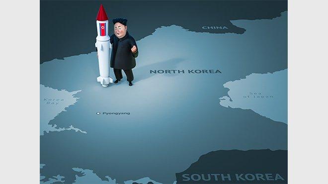 北ICBMが米ワシントンを射程に収めた可能性 すでに「一線は越えている」