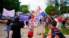 「法と秩序を守る」トランプの賛同者が増えている