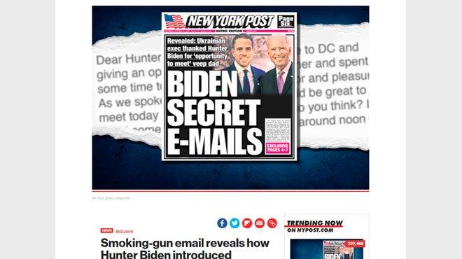 米大統領選、バイデン大敗北は必至か? 息子ハンターをめぐる疑惑の証拠メールが暴露