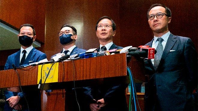 中国が米大統領選の混乱の隙を突いて、香港弾圧を加速