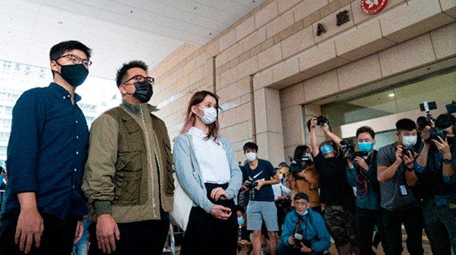 周庭氏ら香港民主活動家に禁錮刑 世界で批判の声が高まるも日本は静観