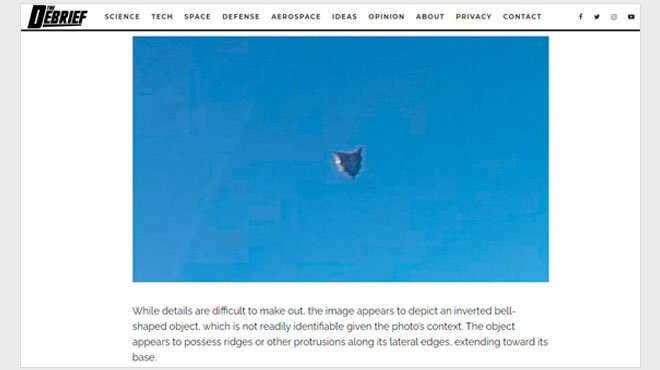 米海軍(UAPタスクフォース)にUFO目撃情報続々か!? 新たなUFO写真が流出