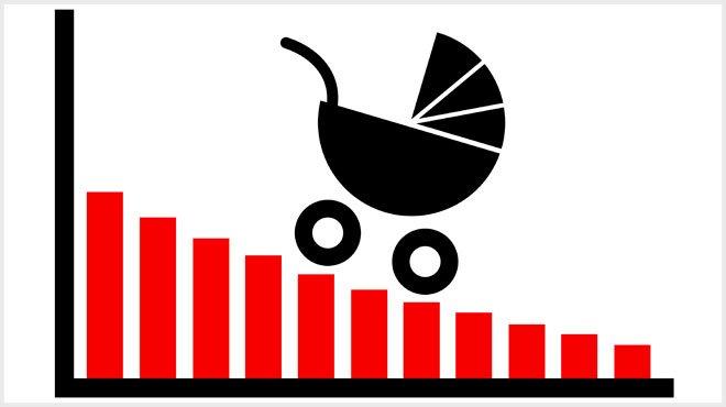 今年の出生数、過去最少の昨年を下回る 少子化、「政府が促進した」側面も?