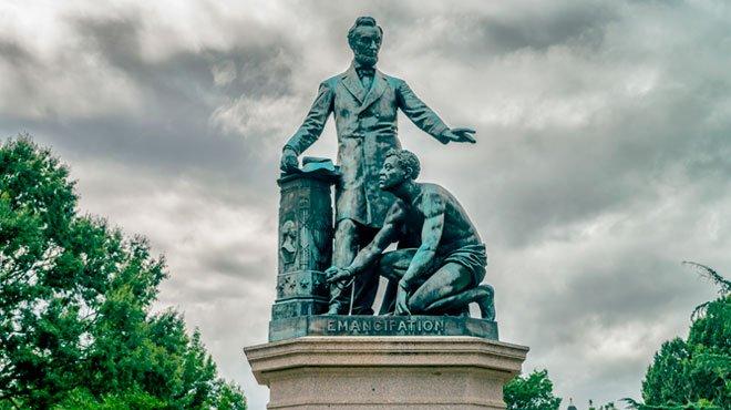 ボストンのリンカン像を撤去 アメリカ建国の歴史は「圧政の歴史」だった!?