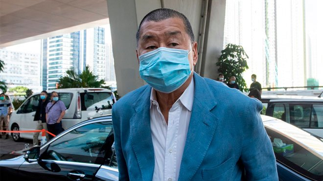 香港から自由が消える 「リンゴ日報」の創業者を国安法で再逮捕