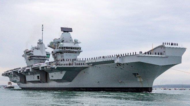 イギリスが核弾頭を1.5倍に増強 空母打撃群・原潜で中国に対抗