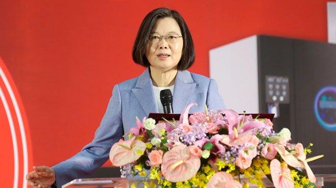 """米""""非公式""""代表団と蔡英文総統が会談 中国は台湾近海の「実弾演習」で応酬 台湾周辺は既に有事"""