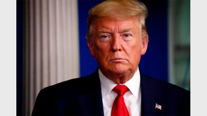 トランプ氏、バイデン大統領を痛烈批判 2024年の大統領選出馬は「100%考えている」