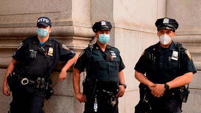 NY市警官が進める「ブルー・ライブズ・マター(警察官の命も大切)」活動 「警察=悪」という思想は誤り