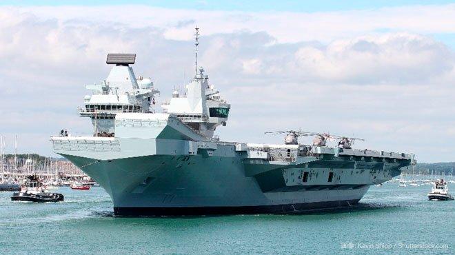 英国空母でコロナの集団感染が発生 中国が生物兵器を使用し、艦隊への妨害と香港への接近阻止を狙った可能性