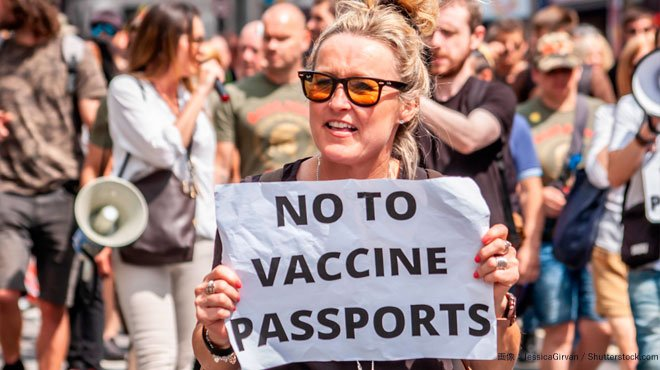 欧州各国でワクチンパス反対の大規模デモ コロナ対策の名目で全体主義化を進めてはならない