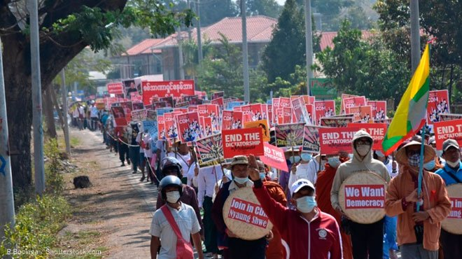ミャンマー・クーデターの犠牲者が1000人を超えた 黒幕・中国に圧力をかけることこそ解決への道