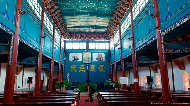 中国でカトリック系施設の閉鎖が相次ぐ 中国が仕掛ける「対宗教戦争」には、「自由・民主・信仰」で立ち向かう