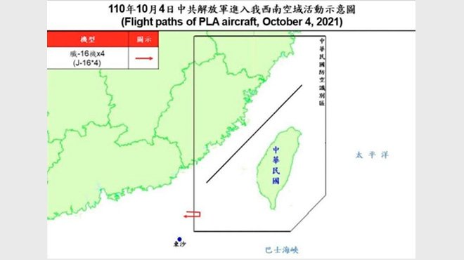中国が建国記念日に合わせ台湾に多数の軍機を派遣 核の恫喝もあからさまにするようになった中国