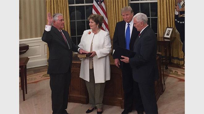 ティラーソン米国務長官が就任後初来日 対北朝鮮対策の「新しいアプローチ」とは