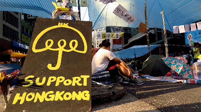 香港当局、「雨傘革命」主導者らを起訴へ 支配を強める中国共産党
