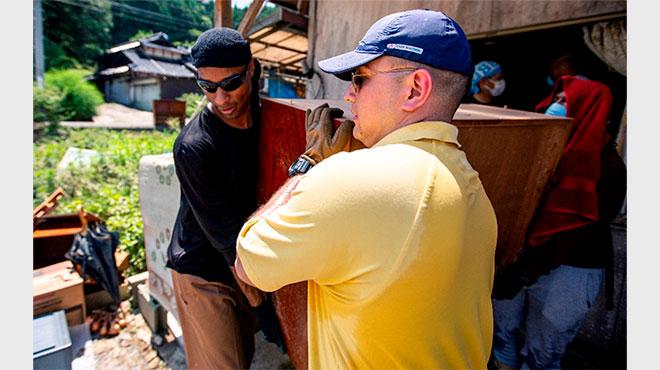 アメリカが西日本豪雨の被災地を支援 米国大使「我々は日本と共にある」と投稿