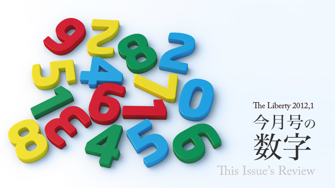 今月号の数字 This Issue's Review